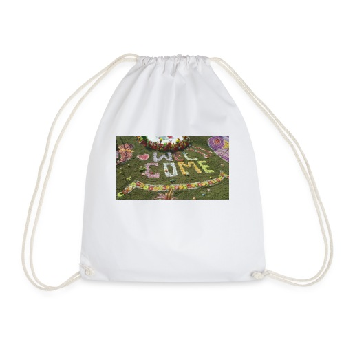 welcome - Drawstring Bag