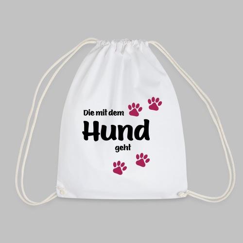 Die Mit Dem Hund Geht - Edition Colored Paw - Turnbeutel