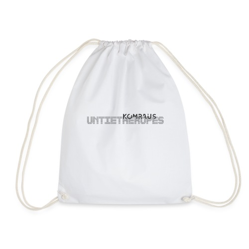 Untie the ropes - Drawstring Bag