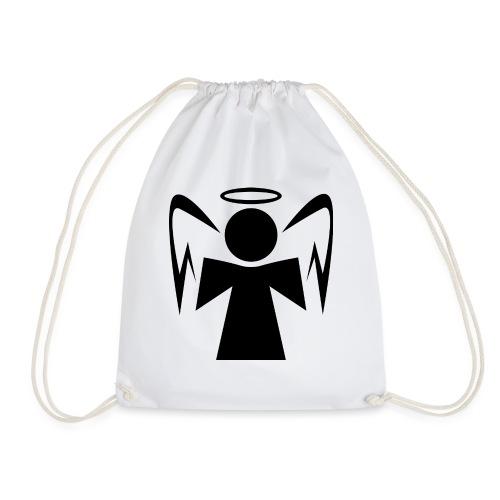 Engel mit Heiligenschein - Turnbeutel
