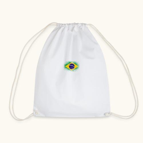 Drapeau brésilien cadeau du Brésil - Sac de sport léger