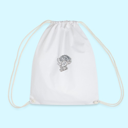 smokey Skull - Drawstring Bag