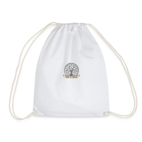 TOS grey tiny 3in png - Drawstring Bag