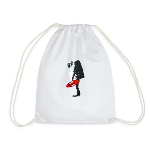 Space Lifeguard - Drawstring Bag