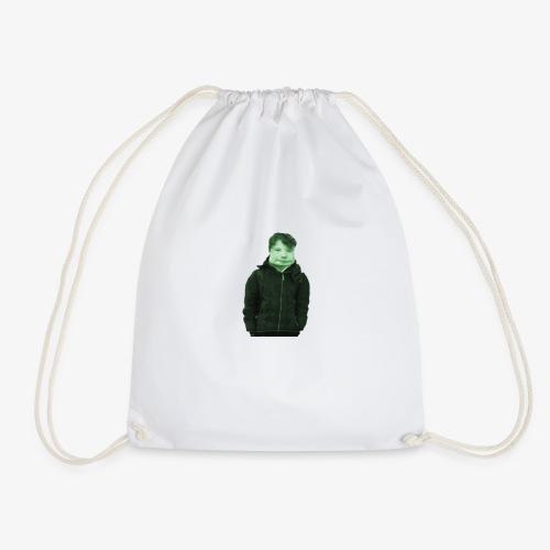 denin is wong - Drawstring Bag