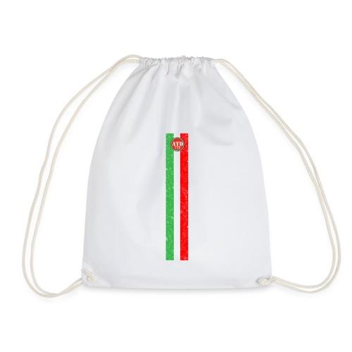 Logo con Bandiera verticale - Sacca sportiva