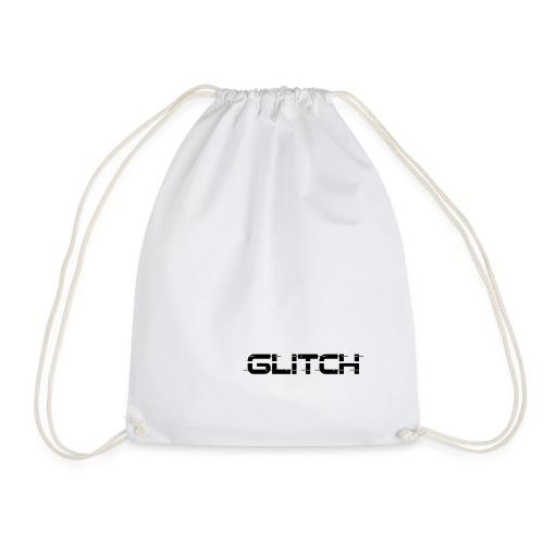LOGO GLITCH - Sacca sportiva