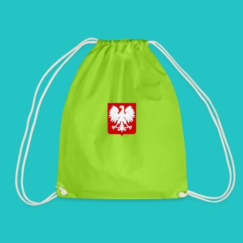 Koszulka z godłem Polski - Worek gimnastyczny