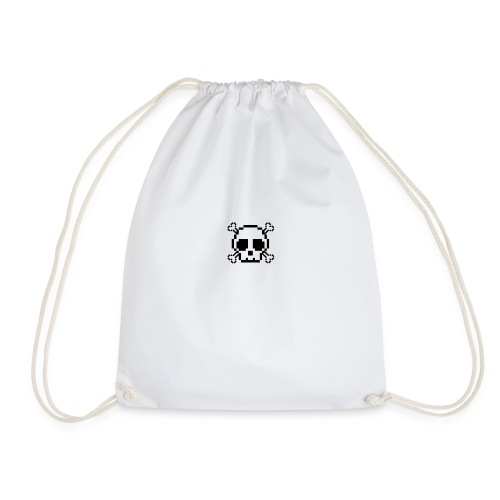 Scripted. Skull - Drawstring Bag