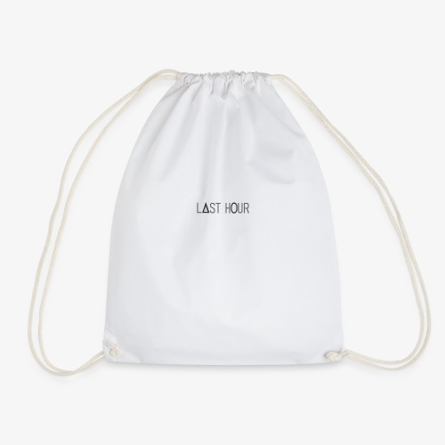 LAST HOUR - Drawstring Bag