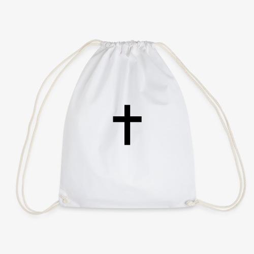 Christian cross - Drawstring Bag