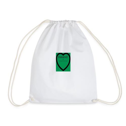Ireland always in my heart - Drawstring Bag