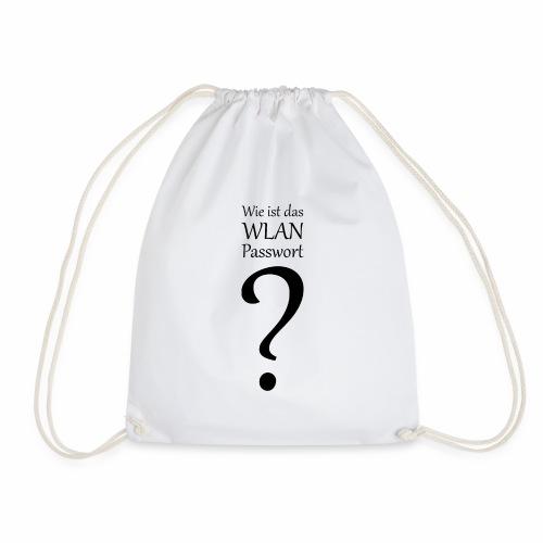 Wlan-Paßwort Variante 3 - Drawstring Bag