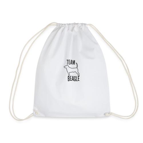 Team Beagle dog as a gift idea - Drawstring Bag