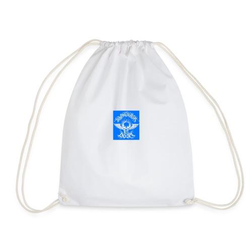 Swagger & Doom Blue/ White 1.0 - Drawstring Bag