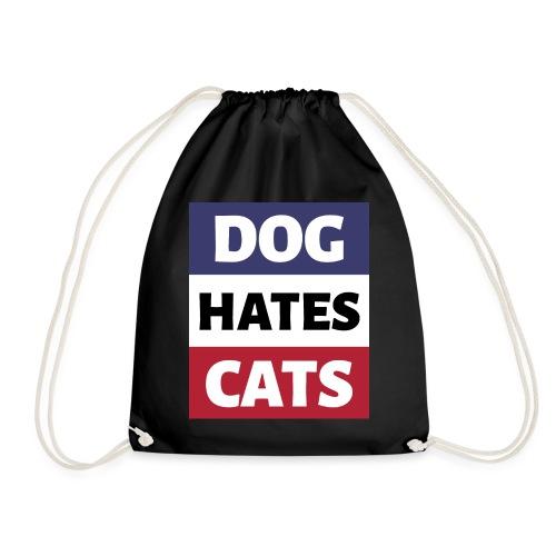 Dog Hates Cats - Turnbeutel