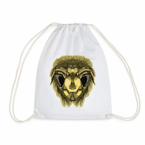 Half-Bee by Jon Ball - Drawstring Bag