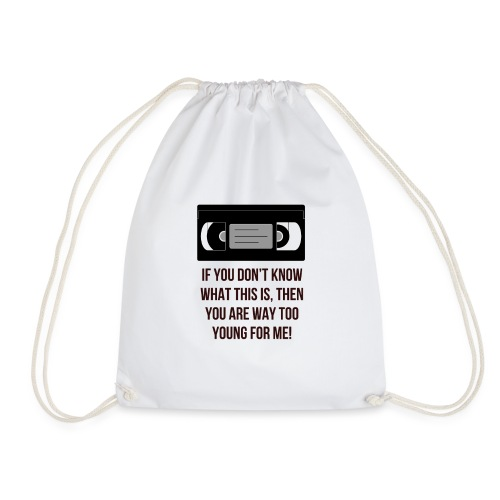 Retro VHS - Drawstring Bag