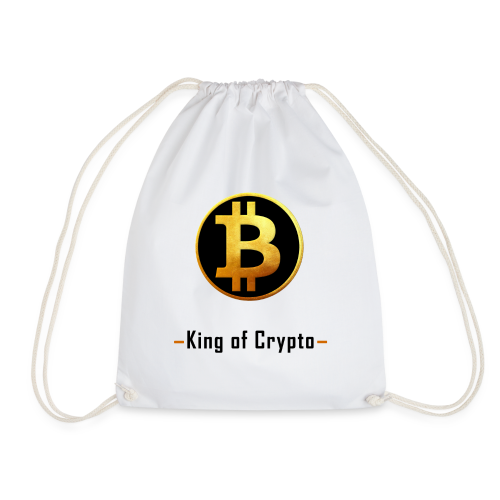 Bitcoin - King of Crypto T-Shirt by Blockawear - Turnbeutel