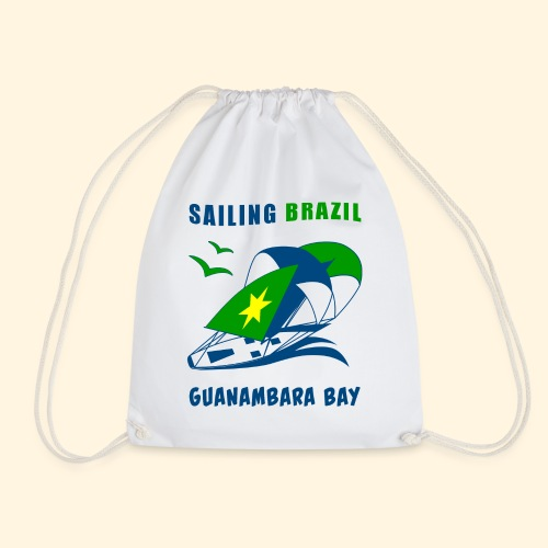 Sailing Brazil - Drawstring Bag