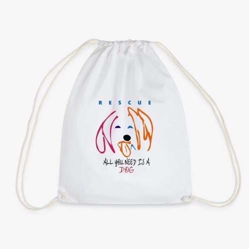ALL YOU NEED IS A DOG - Mochila saco