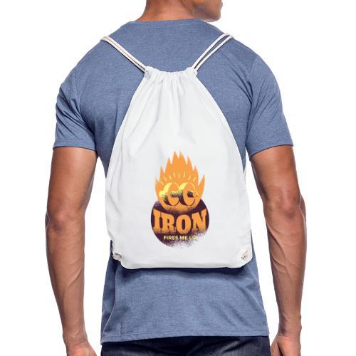 Eisen Feuer feuert mich an Bodybuilding Fitness - Turnbeutel