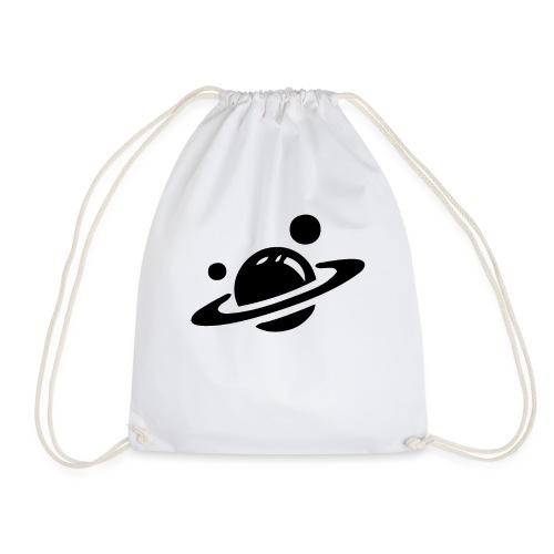 Weltall Symbol Planet Saturn Planeten Universum - Turnbeutel