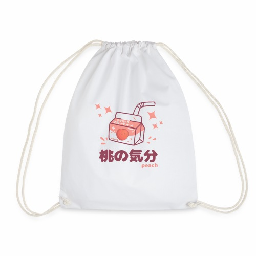 Kawaii Peach Mood Shirt - Turnbeutel