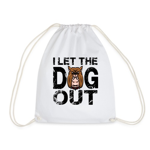 I let the dog out - Turnbeutel