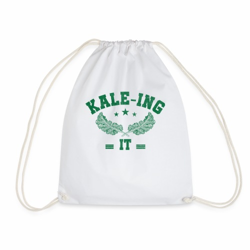 Kale - ing it - Veganer Geschenkidee - Turnbeutel