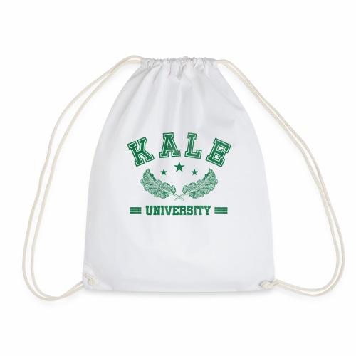 Kale University - Lustige Veganer Geschenkidee - Turnbeutel