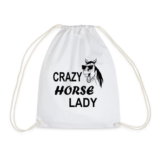 Crazy Horse Lady - Turnbeutel