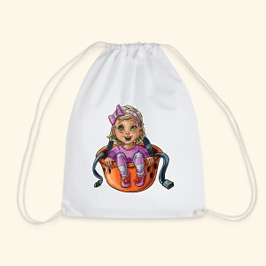 Little baby climber 9 - Drawstring Bag