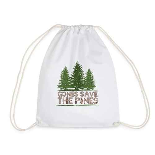 Gones save the pines - Sac de sport léger