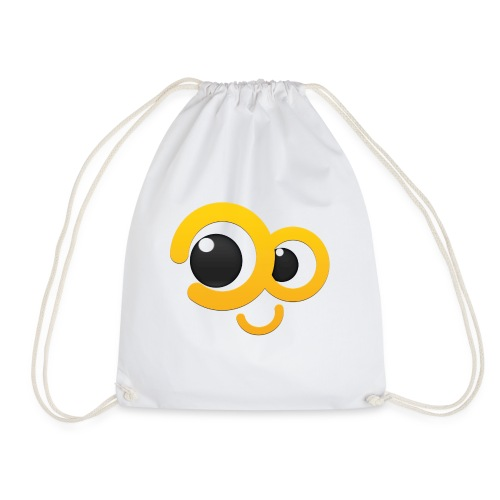 i smile for you - Drawstring Bag