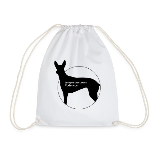 SGCP LOGO WHITE CENTRE - Drawstring Bag