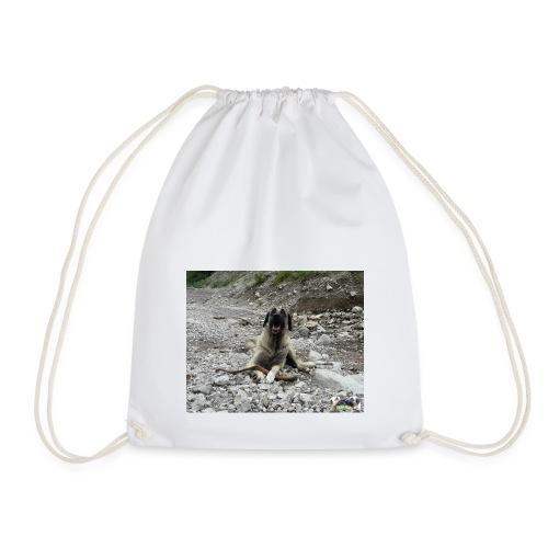 Kangal im Flußbett - Turnbeutel