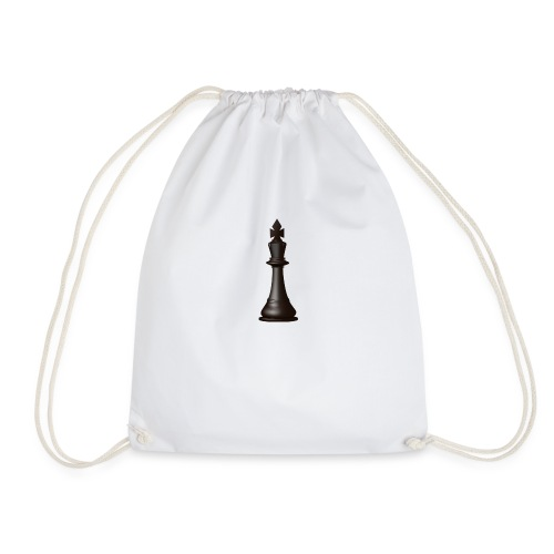 Chess piece - Drawstring Bag