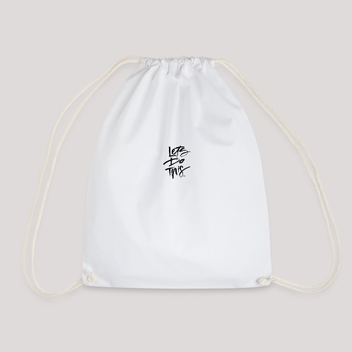 LDT Clear MASTER BLK - Drawstring Bag