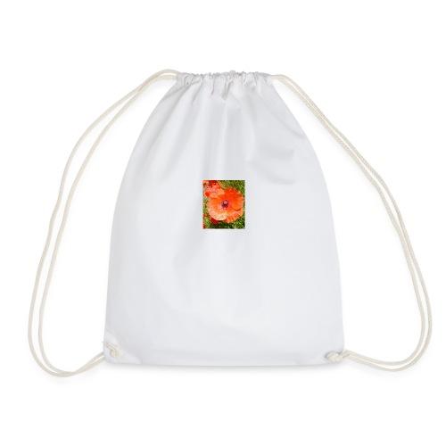 poppy - Drawstring Bag