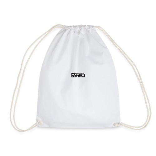 elshaq black - Drawstring Bag