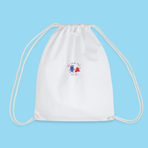 Scribble and splat logo - Drawstring Bag