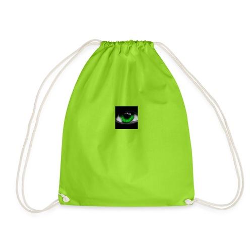Green eye - Drawstring Bag