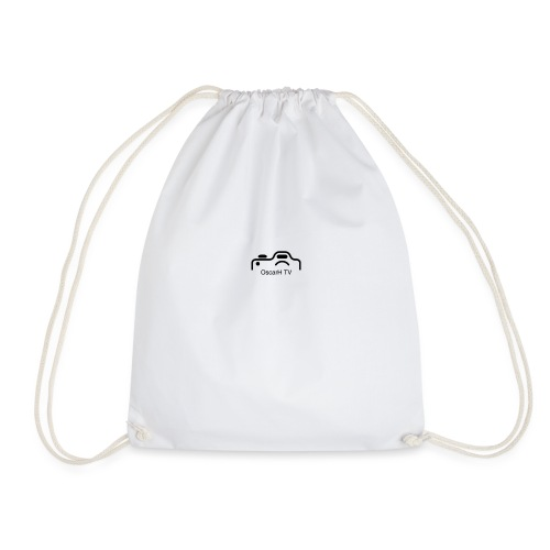 OscarH TV logo 2 Camera - Drawstring Bag