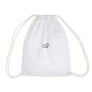 SenseRecord Vit Mugg - Drawstring Bag