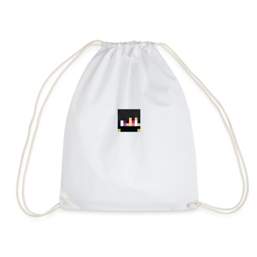 ZeroToShiro face - Drawstring Bag