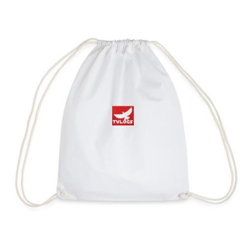 TomVlogs Logo - Drawstring Bag