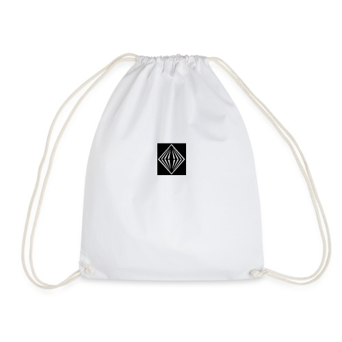 diamond shape - Drawstring Bag
