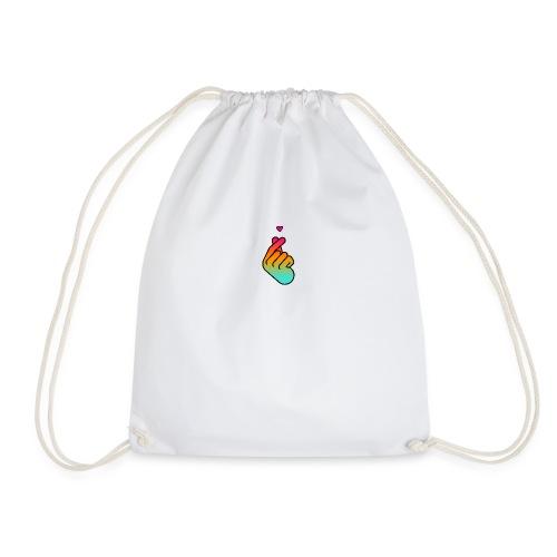 Kpop Cute Heart - Drawstring Bag