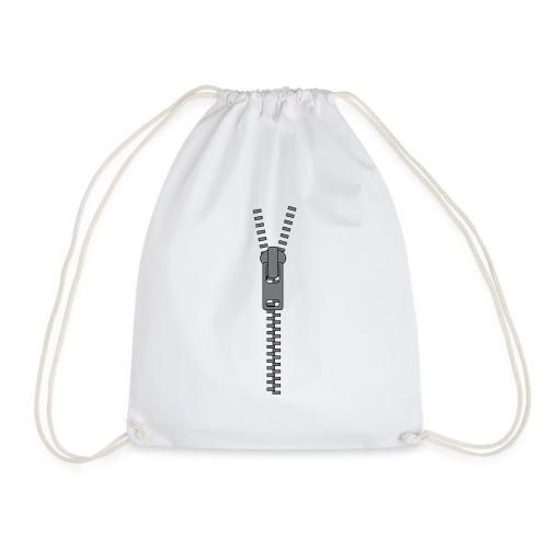 Zipper - Reissverschluss - Turnbeutel